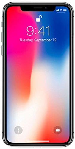 Apple iPhone X 64GB Unlocked GSM Phone - Space Gray (Renewed)