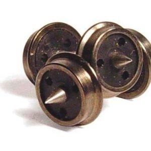 Graham Farish 379-410 N Wagon Wheels 3 Hole Disc (10) 410wOFgKklL