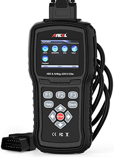 ANCEL AD610 Elite OBDII Scanner ABS SRS(Airbag) Reset Scan Tool Automotive Check Engine SAS Diagnostic Code Reader