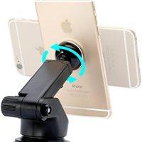 Baseus SULX-0S Solid Teleskopik Vantuzlu Mıknatıslı Torpido Versiyon Araç İçi Telefon Tutucu, Gümüş 18