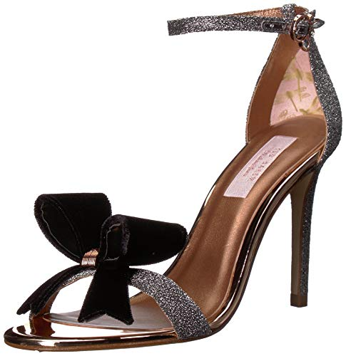 71HBgnDJm7L Womens Textile Classic Sandal Ted Baker Luxury Womens Collection Stiletto