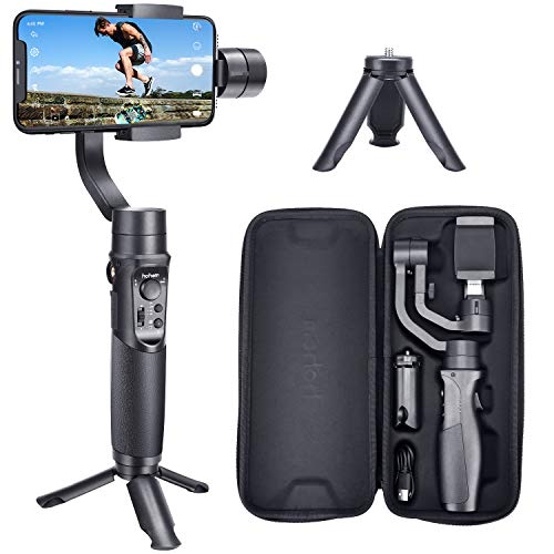 Hohem-Smartphone-Gimbal-3-Axis-Handheld-Stabilizer-for-iPhone-1111pro11pro-maxXsXs-MaxXrX-for-Android-Smartphones-Samsung-Galaxy-S10S10-Plus-for-YoutuberVlogger-iSteady-Mobile-Plus