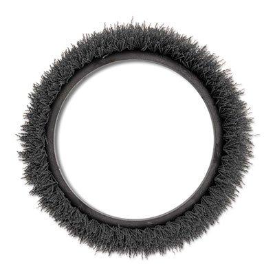 Orbiter Carpet Shampoo Brush, 12' dia, Black