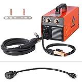 HITBOX MIG Welder 120AMP 110/220V DC Dual Volt Mini IGBT Inverter Gasless MIG Welding Machine