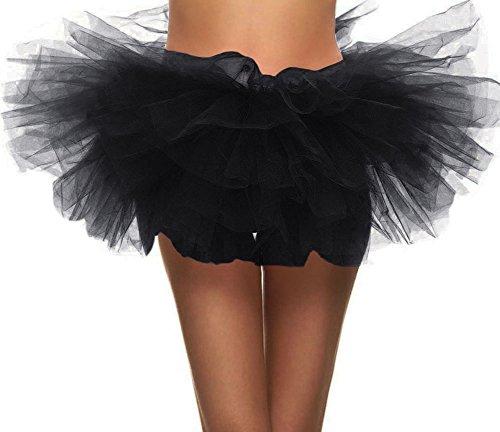 homemade black swan costume - Women's 5-layered Tulle Tutu