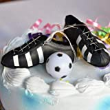 Soccer Cleats and Ball Cake Topper