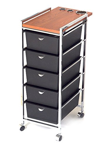 PIBBS 5 Tier Cart with ART70 Topper (Model: D29) [Health and Beauty]