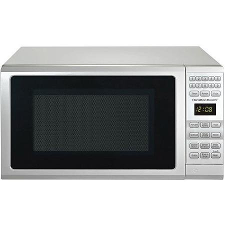 Hamilton Beach 0.7 cu ft Microwave Oven , features Child-safe lockout, 10 power levels (White)