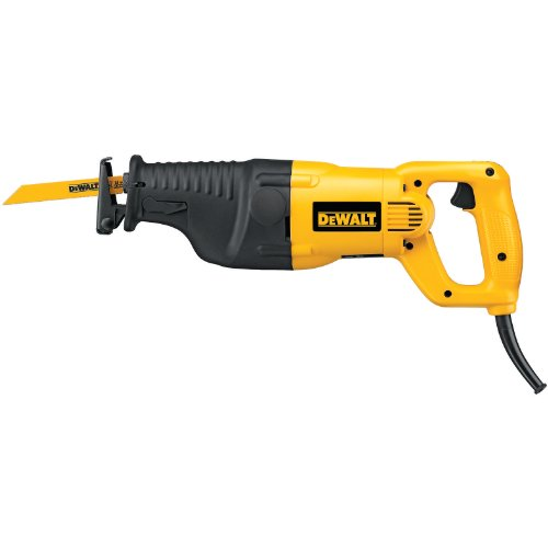 DEWALT DW310K 12 Amp Heavy-Duty Reciprocating Saw Kit