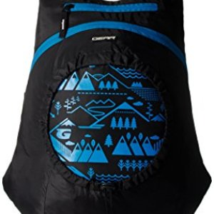 GEAR Black and Blue Kids Backpack