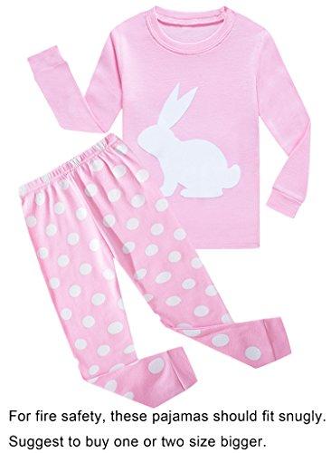 Baby Girls Rabbit Easter Pajamas