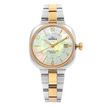 Shinola The Gomelsky Mother of Pearl Dial Ladies Watch 12001102
