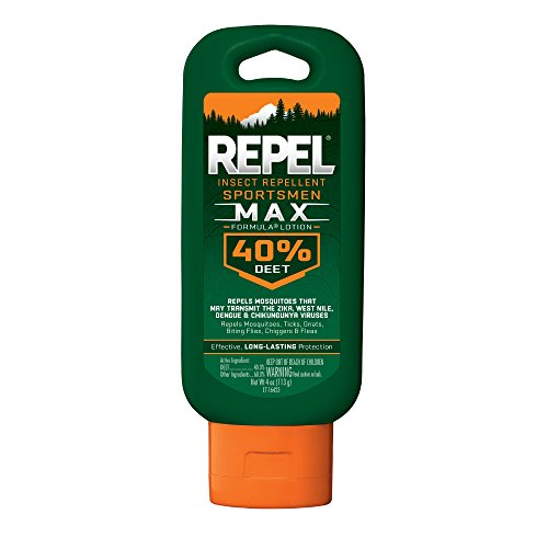 REPEL Sportsmen Max Formula Insect Repellent Lotion, 4-oz