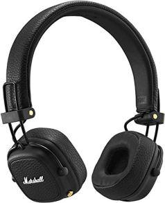 Marshall Major III Voice Google Assistant On-Ear Headphones, Black
