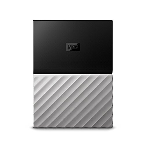 WD 4TB My Passport Ultra Portable External Hard Drive - USB 3.0 - Black-Gray - WDBFKT0040BGY-WESN (Old Generation)