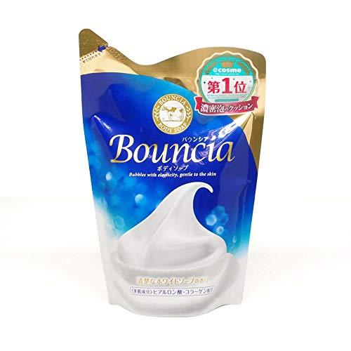 BOUNCIA Gyunyu Body Soap Premium Floral Pump at-Refill, 430ml