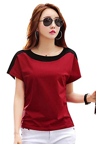BASE 41 Women's Regular Fit Top and T-Shirt