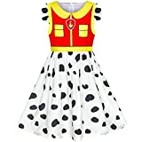 Girls Dress Paw Marshall Costume Patrol Halloween Party Size 4