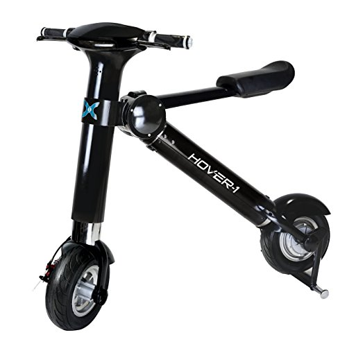 Hover-1 Folding Electric Scooter And Urban E-Bike, Electric Bike With 20 MPH Speed, 22-Mile Range