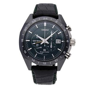 Grand Seiko Spring Drive Spring Drive Black Dial Mens Watch SBGC017 (Certified Pre-Owned)