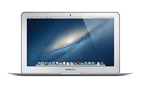 Apple MacBook Air MD711LL/B 11 6in Widescreen LED Backlit HD Laptop, Intel  Dual-Core i5 up to 2 7GHz, 4GB RAM, 128GB SSD, HD Camera, USB 3 0,
