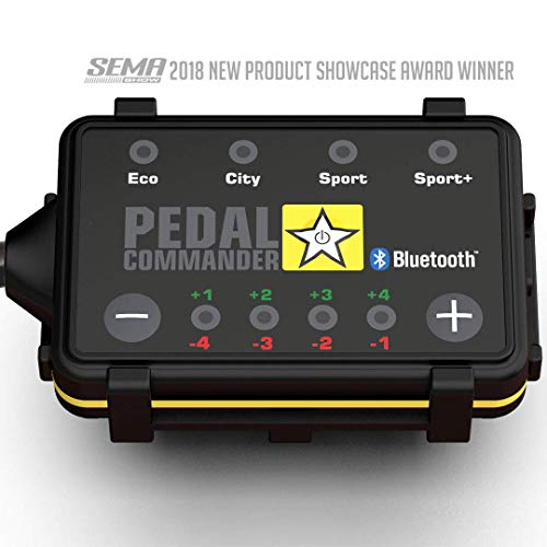 Pedal Commander Throttle Response Controller PC27 Bluetooth for Toyota Tundra 2007 and newer (Fits All Trim Levels; SR, SR5, TRD Sport, Limited, 1794, Platinum, TRD Pro)