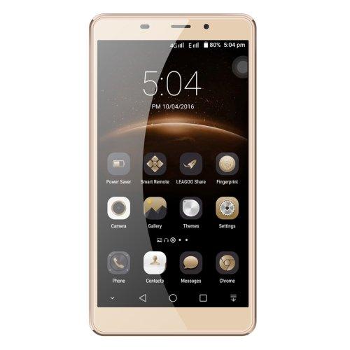 LEAGOO M8 16GB 5.7 inch 2.5D Arc, Freeme 6.0 Smartphone, MTK6580A Quad Core up to 1.3GHz, 2GB RAM GSM & WCDMA (Gold)