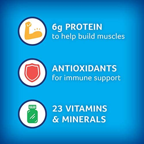 PediaSure Grow and Gain Non-GMO and Gluten-Free Shake Mix Powder, Nutritional Shake For Kids, With Protein, Probiotics, DHA, Antioxidants, and Vitamins & Minerals, Chocolate, 14.1 oz, 3 Count 4