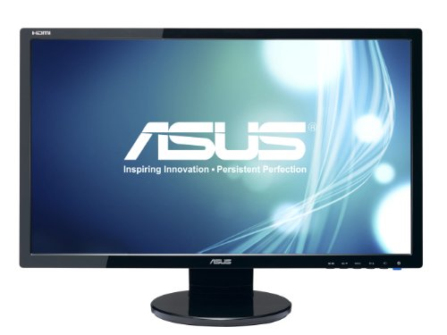 ASUS VE248H 24' Full HD 1920x1080 2ms HDMI DVI VGA Back-lit LED Monitor