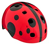 Schwinn Burst Toddler Ladybug Helmet, Red