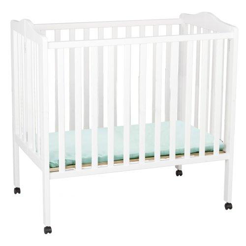 Delta Children Folding Portable Mini Baby Crib