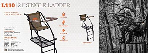 Millennium Treestands L110 Ladder, 21 ft.