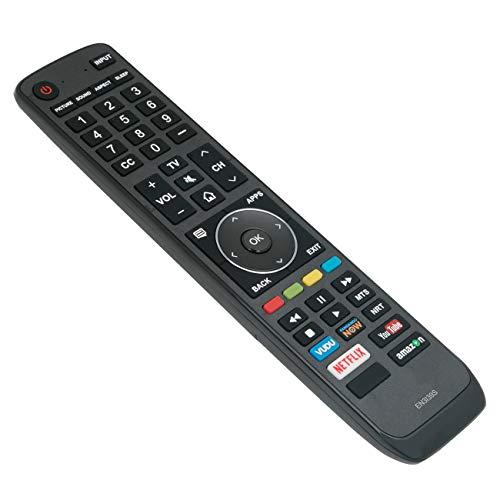 New EN3I39S Replace Remote Control fit for Sharp Smart 4K TV LC-43N7002U LC-50P8000U LC-55P8000U LC-43P7000 LC-55N7002U LC-65N8002U LC-50P7000 LC-55P620 LC-55P7000 LC-65P6000 LC-65P620 LC-65P8000
