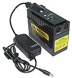 BiXPower High Capacity (192 Wh or 52,000 mAh) Selectable Output Voltage (12V 15V 16V 18.5V 19.5V 20V 24V) Rechargeable Ltihium ion Battery - MP190DC