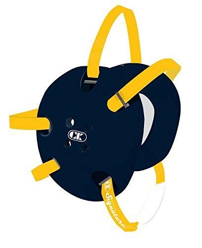 Cliff Keen Custom Signature Headgear - Navy/Light Gold [Misc.]