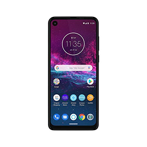 Motorola-One-Action-with-Alexa-Push-to-Talk-Unlocked-Smartphone-Global-Version-128GB-Denim-US-Warranty-Verizon-ATT-T-Mobile-Sprint-Boost-Cricket-Metro