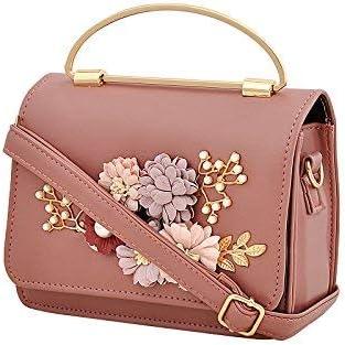 Mark & Keith Women Peach Handbag(MBG 0492 PCH)