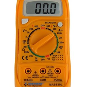 Northern Tool MAS830L AC DC 600V Digital Pocket Multimeter Voltage Tester