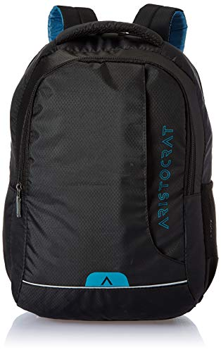 Aristocrat 45 cms Black Laptop Backpack (LPBPZEN2BLK)