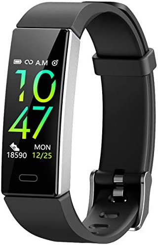 Mgaolo Fitness Tracker,2020 Version IP68 Waterproof Activity Tracker with Blood Pressure Heart Rate Sleep Monitor,10 Sport Modes Health Fit Smart Watch with Pedometer for Men Women 3