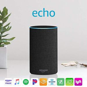 Echo (2nd Generation) - Smart speaker with Alexa and Dolby processing - Charcoal Fabric 3