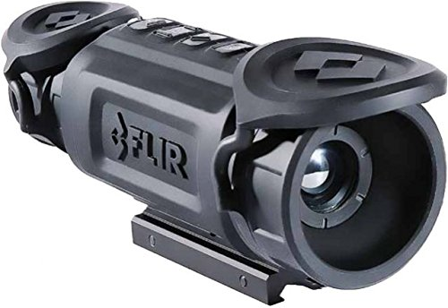 Flir ThermoSight R-Series RS64 2-16X Thermal Night Vision Rifle Scope for Non-Game Hunting, Black