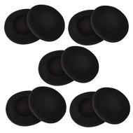 Sony Headphone Earpad | Sunmns 2 Inch Foam Pad EarPad | Ear Cover for Sony Sennheiser Philips Headphone | 5 Pairs Black