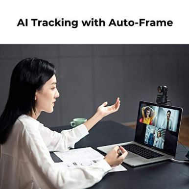 OBSBOT-Tiny-AI-Powered-PTZ-Webcam-Full-HD-1080p-Video-Conferencing-Recording-and-Streaming-Black