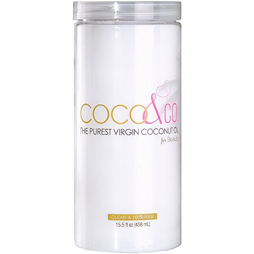 Ultra Pure Organic Virgin Coconut Oil for Hair, Skin, Body, Scalp and Hair Growth By COCO&CO. Cosmetic Grade 100% RAW