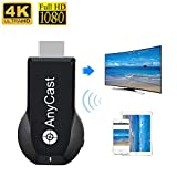 4K&1080P Display Wireless HDMI Adapter, iPhone Ipad to TV Miracast Dongle, Toneseas Streaming Device Receiver for MacBook Laptop Samsung Android Phones - Business,Education,Office,Birthday Gift