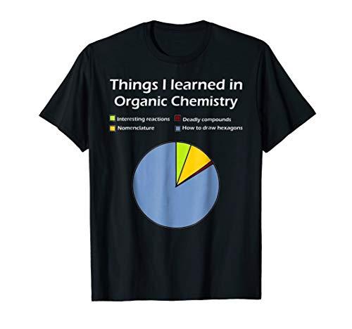 Mens Funny Organic Chemistry Pun T Shirt for Women Men Chemist Large Black
