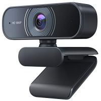 Webcam with Microphone, Crosstour 1080P HD Webcam Computer Web Camera - USB Web Cam for Laptop Desktop Mac