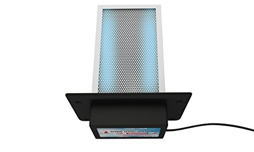 D200 Dual lamp Air Purifier Whole House TIO2 PCO photocatalytic Filter Uv Light in Duct for Hvac Ac (Air Conditioning) Duct Germicidal Hydroxyl Radicals generator