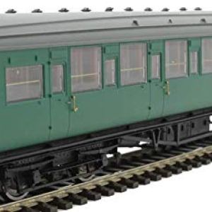 Hornby R4836 BR Ex SR Maunsell 6 Compartment Brake 2nd Class Coach'S2763S' Multi 412jp1Gy7RL
